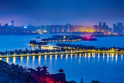 东湖风景名胜区世界级绿道照明项目