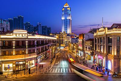 武汉中山大道夜景照明规划