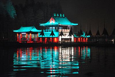 武汉市东湖风景名胜区夜景照明