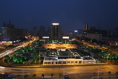 武汉市洪山广场景观照明工程