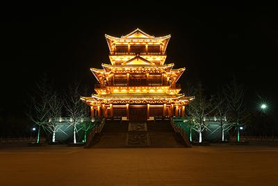 黄冈市遗爱湖风景名胜区景观照明工程