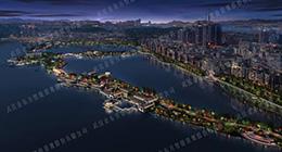 武汉金东方照明设计施工项目 | 黄石磁湖现已开工