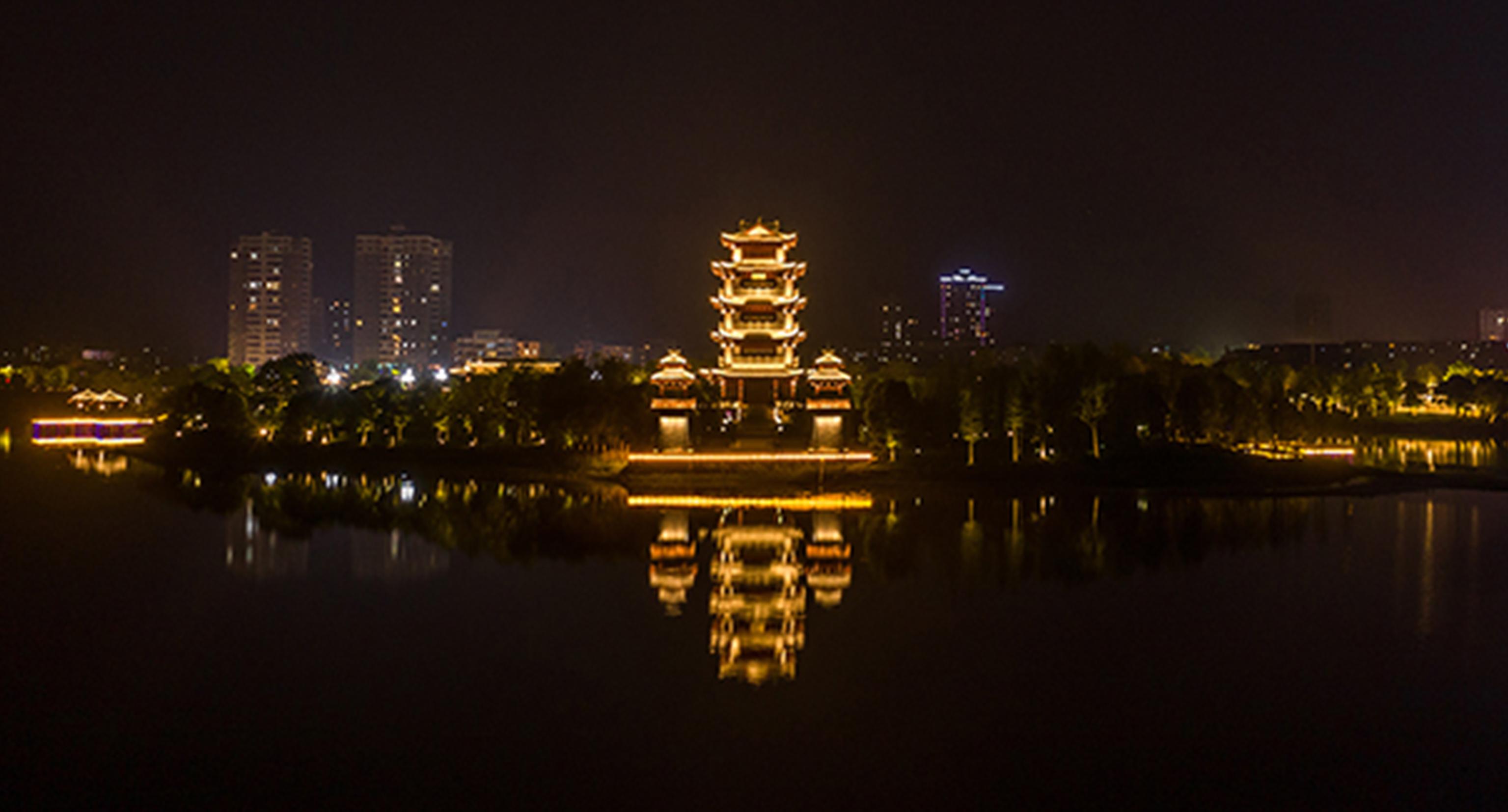 金东方 | 嘉鱼二乔公园照明设计